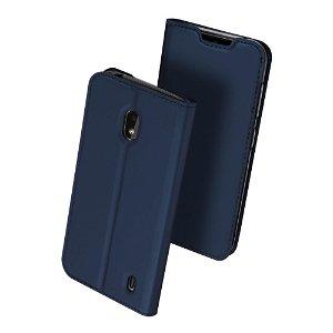 Nokia 2.2 Dux Ducis Flip Cover - Mørkeblå