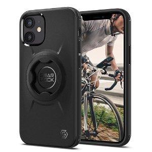 iPhone 12 Mini Spigen Gearlock GCF133 Bike Mount Case - Sort