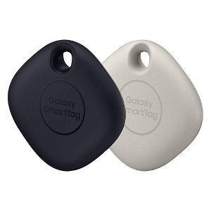 Samsung Galaxy SmartTag 2 Pack - Sort / Hvid