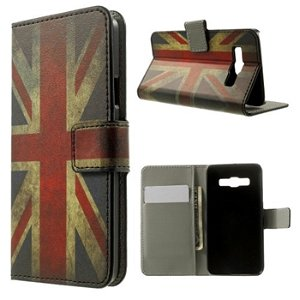Samsung Galaxy A3 Design Flip Cover Med Pung - Union Jack