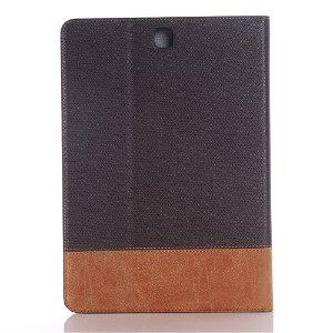 Samsung Galaxy Tab S2 9.7 Premium Cover m. Stand - Mørk Brun