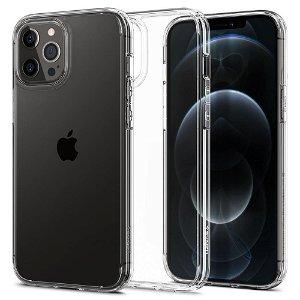 iPhone 12 / 12 Pro Spigen Ultra Hybrid Cover - Gennemsigtig