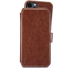 Holdit iPhone 12 / 12 Pro Wallet Magnet Case Berlin Brun