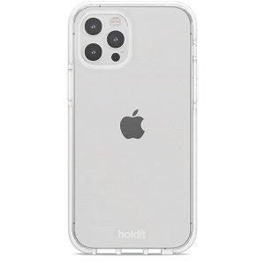 Holdit iPhone 12 / 12 Pro Seethru Cover - Hvid