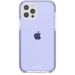 Holdit iPhone 12 / 12 Pro Seethru Cover - Lavender