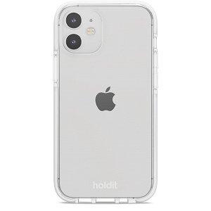 Holdit iPhone 12 Mini Seethru Cover - Hvid