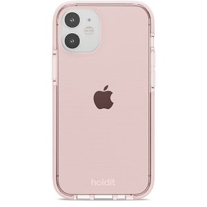 Holdit iPhone 12 Mini Seethru Cover - Blush Pink