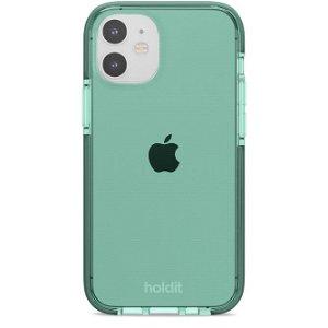 Holdit iPhone 12 Mini Seethru Cover - Moss Green