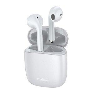Baseus W04 TWS Trådløs In-Ear Høretelefoner m. Mikrofon - Hvid