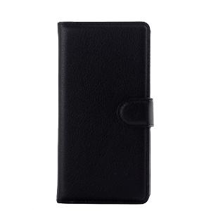Huawei Ascend P8 Lite Smart Flip Cover m. Stand - Sort