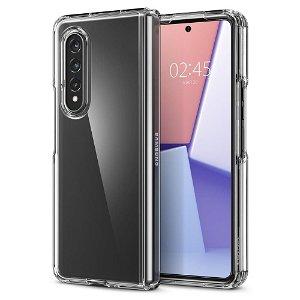 Samsung Galaxy Z Fold3 (5G) Spigen Ultra Hybrid Bagside Cover - Gennemsigtig