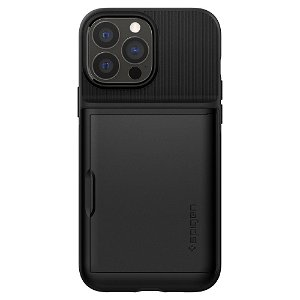 iPhone 13 Pro Max Spigen Slim Armor CS Bagside Cover - Sort