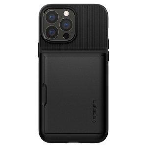 iPhone 13 Pro Spigen Slim Armor CS Bagside Cover - Sort