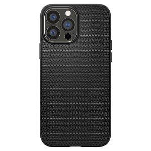 iPhone 13 Pro Max Spigen Liquid Air Bagside Cover - Sort
