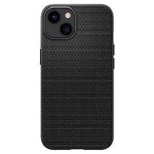 iPhone 13 Spigen Liquid Air Bagside Cover - Sort