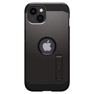 iPhone 13 Spigen Tough Armor Bagside Cover - Sort