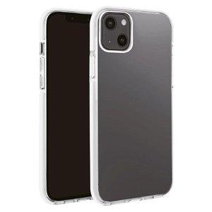 iPhone 13 Mini Vivanco Rock Solid Bagside Cover - Gennemsigtig & Sort