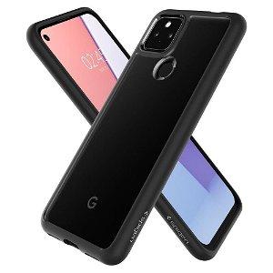 Google Pixel 5a 5G Spigen Ultra Hybrid Bagside Cover - Sort