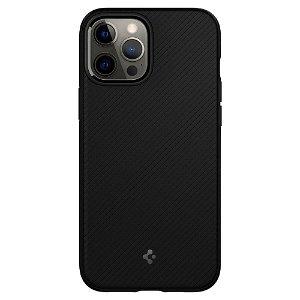 iPhone 12 Pro Max Spigen Mag Armor Bagside Cover - MagSafe Kompatibel - Matte Black