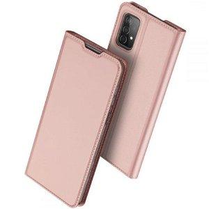 Samsung Galaxy A52s (5G) / A52 (4G / 5G) DUX DUCIS Skin Pro Series Thin Wallet Cover - Lyserød