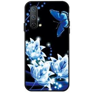 OnePlus Nord CE (5G) Fleksibel Plastik Bagside Cover - Fantasy Flowers