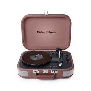 MUSE Bluetooth MT-201 Vintage Stereo Pladespiller - Vintage Pink