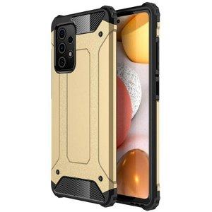 Samsung Galaxy A52s (5G) / A52 (4G / 5G) Håndværker Cover Armor Guard - Guld