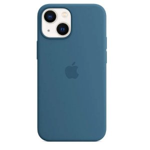 Original Apple iPhone 13 Mini Silikone MagSafe Cover Blue Jay (MM1Y3ZM/A)