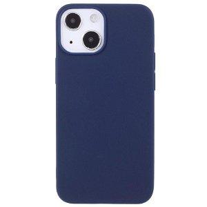 iPhone 13 Fleksibel TPU Plast Cover - Mørkeblå