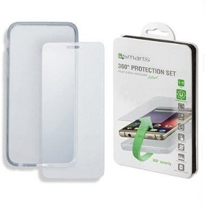 iPhone 8 / 7 4smarts 360⁰ Protection Set (Cover + Panserglas)