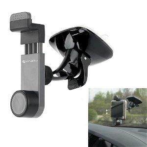 4smarts Universal Car Grip Holder - Bilholder m. Sugekop Grå/Sort