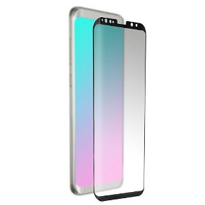 Samsung Galaxy S9 4smarts Curved Second Glass Skærmbeskyttelse - Case Friendly - Sort