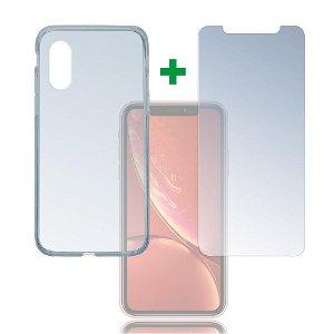 iPhone XR 4smarts 360⁰ Protection Set (Cover + Panserglas)