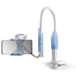 4smarts Flexarm Mount for Smartphones - Hvid / Lyseblå