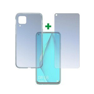 Huawei P40 Lite 4smarts 360⁰ Protection Set (Cover + Skærmbeskyttelse)
