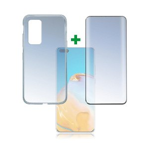 Huawei P40 Pro 4smarts 360⁰ Protection Set Premium Edition (Cover + Skærmbeskyttelse)