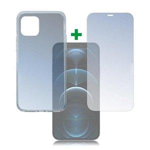 iPhone 12 / 12 Pro 4smarts 360⁰ Protection Set (Cover + Skærmbeskyttelse)