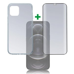 iPhone 12 Pro Max 4smarts 360⁰ Protection Set Premium Edition (Cover + Skærmbeskyttelse)