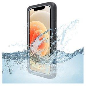 4Smarts Active Pro STARK - iPhone 12 Pro Max Vandtæt Cover - Sort
