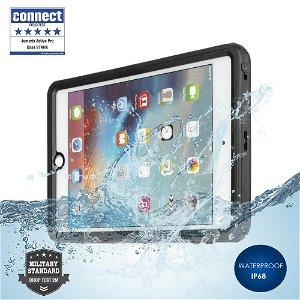 iPad mini (2019) 4smarts Rugged Waterproof Case Stark (Vandtæt Cover) - Sort