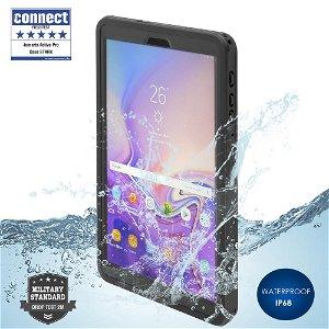 "Samsung Galaxy Tab A 10.5"" 4smarts Rugged Waterproof Case Stark (Vandtæt Cover) - Black"