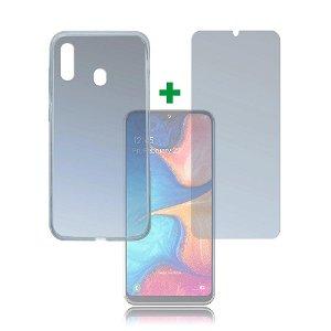 Samsung Galaxy A20e 4smarts 360⁰ Protection Set (Cover + Panserglas)