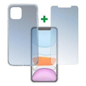 iPhone 11 4smarts 360⁰ Protection Set (Cover + Skærmbeskyttelse)