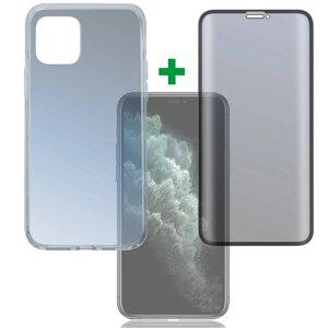 iPhone 11 Pro 4Smarts 360 Graders Beskyttelsessæt (Cover + Hærdet Glas)