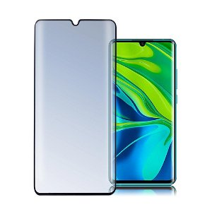 Xiaomi Mi Note 10 / Note 10 Pro 4Smarts Curved Second Glass Skærmbeskyttelse - Sort