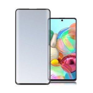 Samsung Galaxy A71 4smarts Second Glass Skærmbeskyttelse - Sort Kant