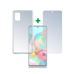 Samsung Galaxy A71 4smarts 360° Protection Set (Cover + Panserglas)