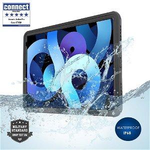 iPad Air (2020) - 4smarts Stark Rugged Waterproof Case - Sort