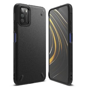 Xiaomi Poco M3 Ringke Onyx Case - Sort