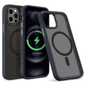 iPhone 12 / 12 Pro Spigen Cyrill Hybrid Case - MagSafe Kompatibel - Frosted Black